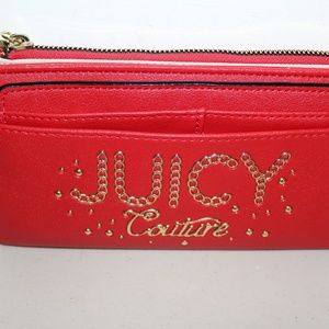 JUICY COUTURE LIME LIGHT LARGE WALLET CLUTCH BAG